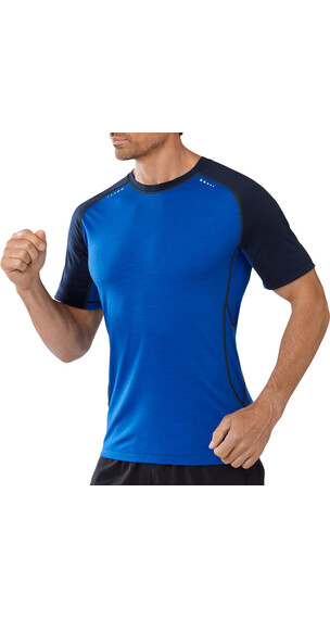 Smartwool M's PhD Ultra Light Short Sleeve Bright Blue